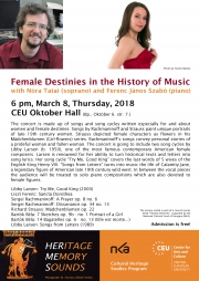 Female Destinies in the History of Music